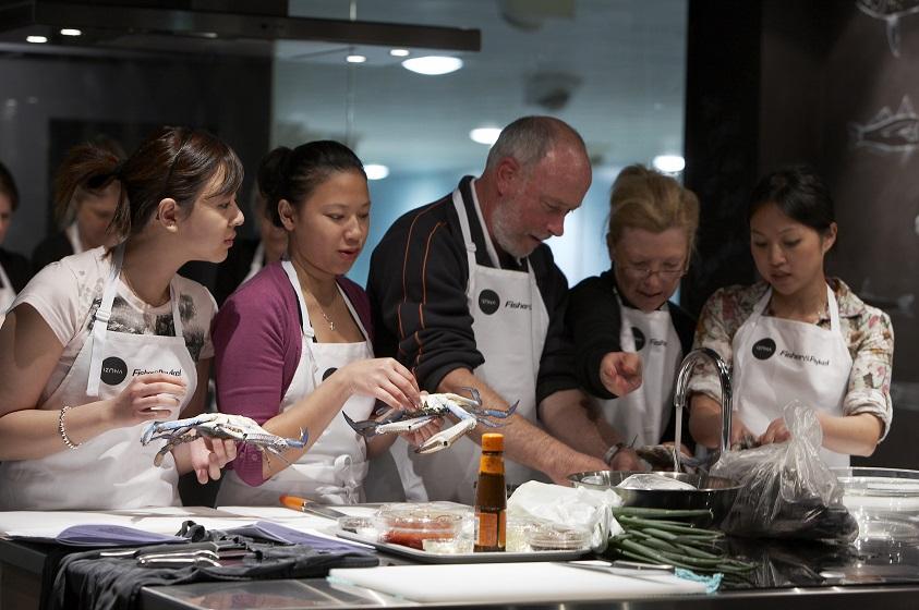 Sydney Seafood School Class