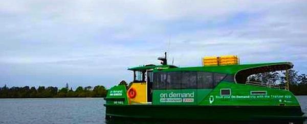 Ferry on demand